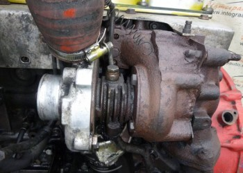 Вкарчили на Ниссановский выхлопной коллектор даже родную BAW овскую турбину  - 3987189508.jpg